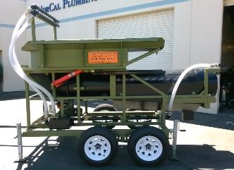 portable gold & diamond  trommel wash plant  20-30 yard per hour heckler fabrication