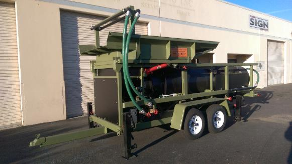 3610 Portable Gold & Diamond Trommel Wash Plant Heckler Fabrication