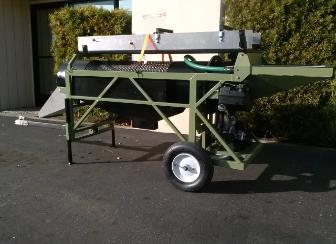 portable gold & diamond mini trommel wash plant heckler fabrication