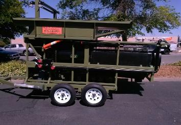 Portable Gold & Diamond Trommel Wash Plant Model # 3610 heckler fabrication