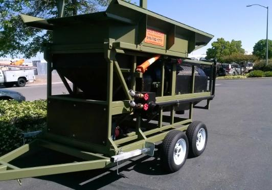 portable trommel wash plant model 3610 heckler fabrication